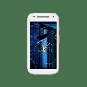 Moto E Glass + LCD replacement
