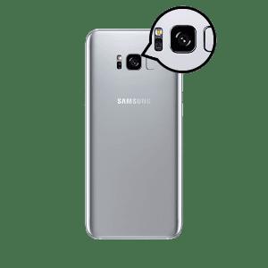 Samsung S8 Plus Back camera lens repair