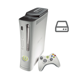 Xbox 360 original hard drive repair