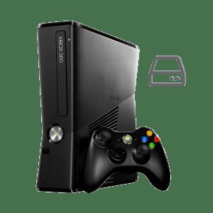 Xbox 360 Slim hard drive repair