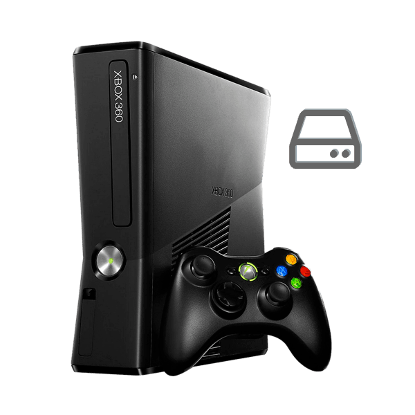 Xbox 360 Slim hard drive repair